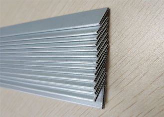 China Custom Aluminum Radiator Tube Extrusion Channel Multi Port Tube For Condenser supplier
