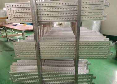 3003 Extrusion Brazing Cold Plate Aluminum Spare Parts , Aluminium Car Parts