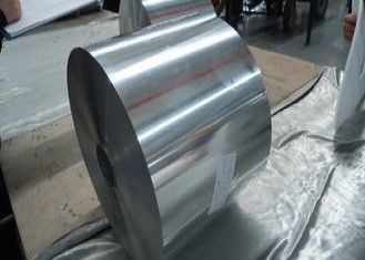 Core 3003 + 1.5% Zn  Clad 4045+1% Aluminum Foil Roll Thickness 0.08mm for welding Heat Exchangers
