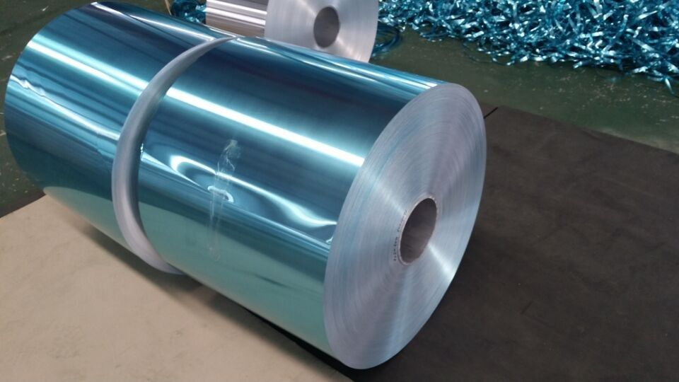 Hydrophilic Colorful Lacquered Aluminium Foil For Air Conditioner 1.0 - 2.0 µM Film