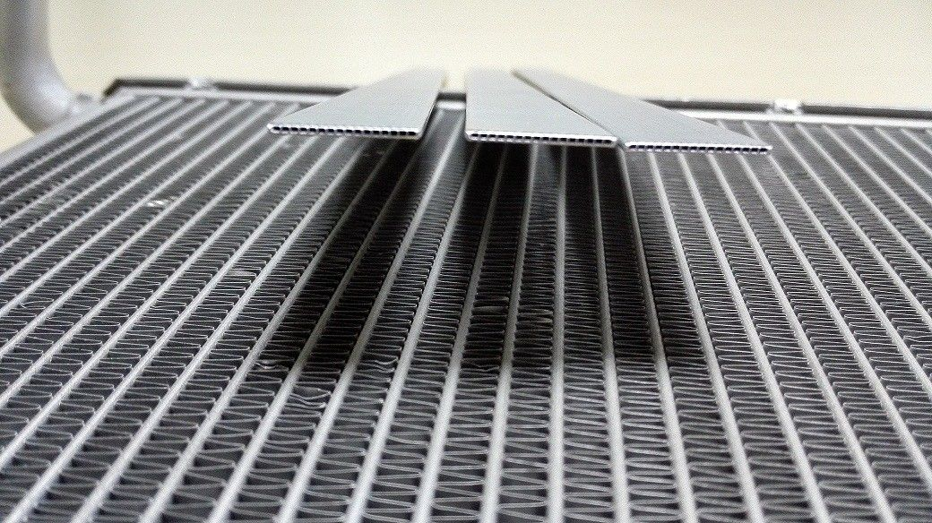 Heat Exchangers Aluminum Radiator Tube Multi Channel O