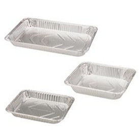 Disposable Aluminium Foil Container / Tray / Box Customised Healthy Food Storage