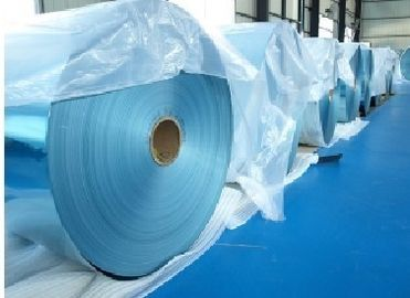 China Hydrophilic Blue Gold Fin Stock Aluminum Foil for Air Conditioner / Air Cooling factory