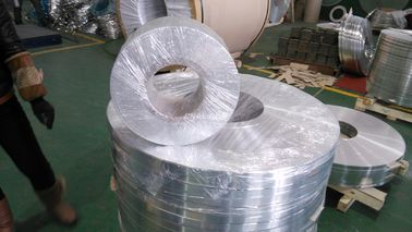China 4045 3003 4045 Claded Aluminum strips Industrial ID 500mm High Performance factory
