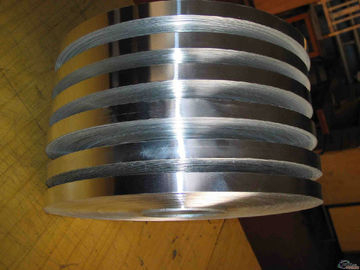 China Hot Rolled Flat Aluminium Strips Aluminum Trim Coils For Transformer / Auto Radiator factory