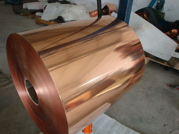 China Excellent Ductility Copper Shielding Foil / Pure Copper Foil For Architecture Fitting distributor