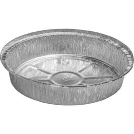 China Household Microwavable Foil Containers / Aluminum Foil Dish 50mic - 100mic distributor