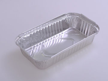 China Odorless Aluminium Foil Containers With Lids 158 * 106 * 28.5mm Environment Friendly factory