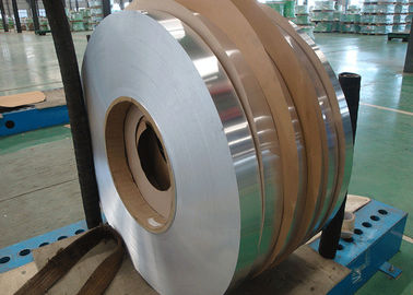 China High Performance Aluminium Strip Foil 3003 + Zn Core Alloy For Evaporator factory