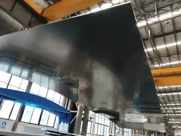 Silver Long Length Aluminum Alloy Sheet / 200mm Thick Aluminium Alloy Plate