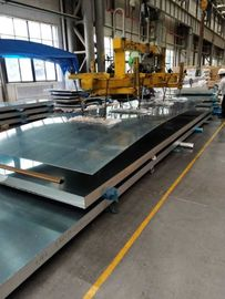 Extra Wide Aluminum Alloy Sheet / 5182 H111 Aluminum Alloy Plate For Tanker