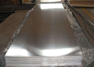 China Hot Rolling 6mm Aluminium Sheet For Refrigerated Plate , Flat Aluminum Sheets factory