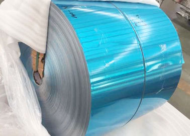 China Refrigerator Blue Color Coated Aluminum Coil Roll Standard Export Packaging factory