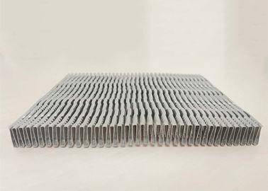 China Durable Heat Exchange Radiator Fin Aluminum Car Parts For New Energy Vehicle distributor