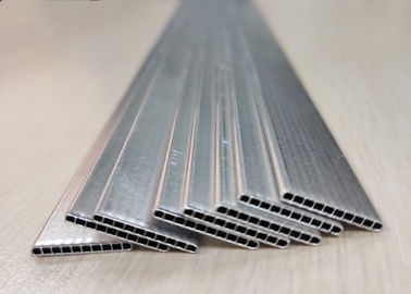 China Silver 1000 Or 3000 Series Micro Multiport Extruded Aluminium Tubes Environment Friendly factory