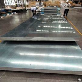 China Huge Length And Width 2mm Aluminium Sheet For Automobile , High Speed Railway distributor