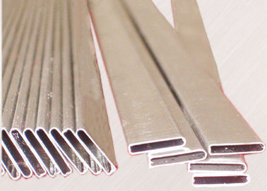 China 4343 / 3003 / 7072 Aluminium Extruded Profiles High Frequency Welding Auto Radiator Tube factory