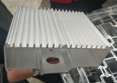 China Extrusion Heat Sink Radiator Aluminum Spare Parts With Customized Made factory