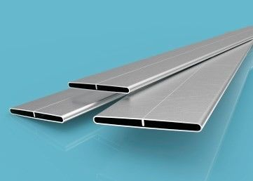 China 3000 Series Aluminium Extruded Profiles High Frequency B Type Radiator Tube For Car factory