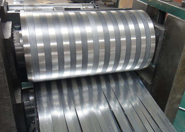 China 8000 Series Mill Finished Aluminum Fin Strips Heat Exchange Materials For Air Dryer distributor
