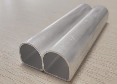China D - Type Aluminium Extruded Profiles High Frequency Welded Pipes distributor