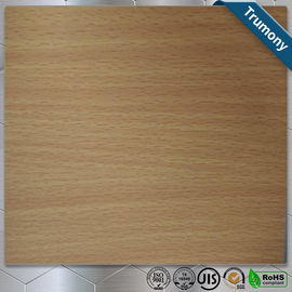 China Wooden Pattern Grain Aluminum Painting Panels ACP For Decoration Using distributor