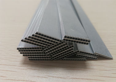China 3003 / 3102 Aluminum Alloy Tube Parallel Flow Microchannel Aluminum Flat Tube factory