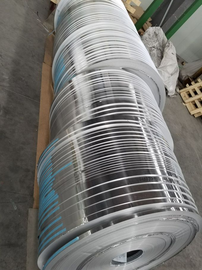 3003 Ho Aluminium Strips with Smooth Silver Round Edge 3.0mm * 142mm