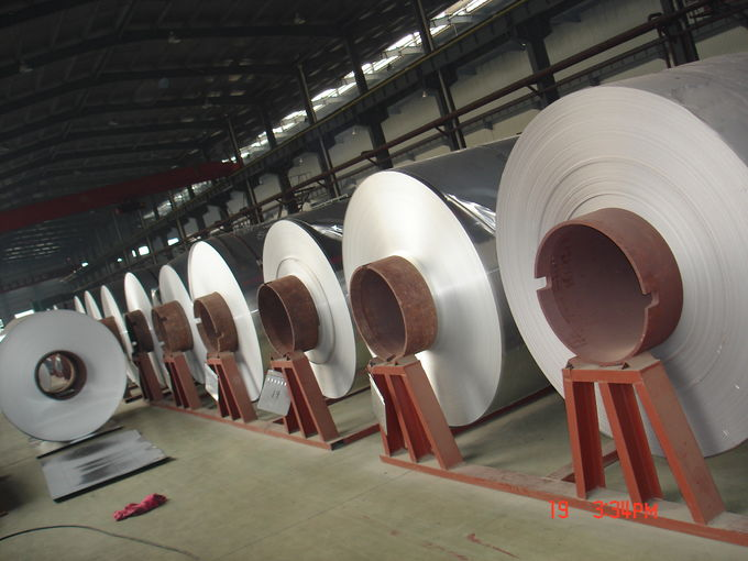 Cold Rolling Aluminum Coil / Aluminum Alloy Foil With Different Application