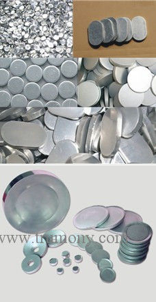 Collapsible Aluminium Tubes Slug/Circles for Roof Vent Temper: O - H112