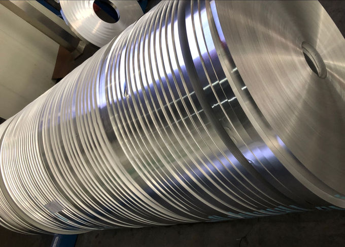 Thickness 0.05 - 0.6mm Hot Rolling Aluminium Strip / Tape For Cable Transformer