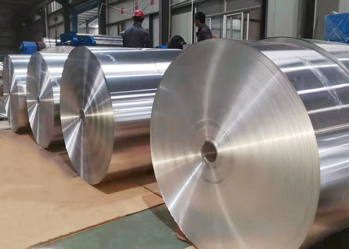 Width 12 - 1100mm Hot Rolling Aluminium Strips For Oil Cooler , Aluminium Sheet Roll