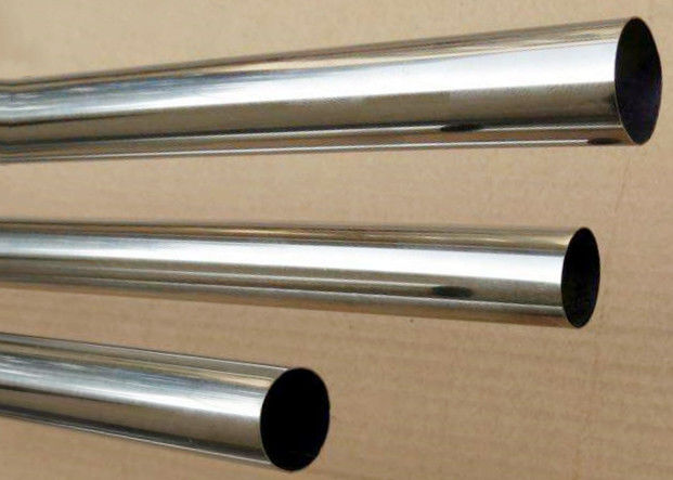Silver 3000 Series Aluminum Extruded Profiles Round Tube For Car Radiator